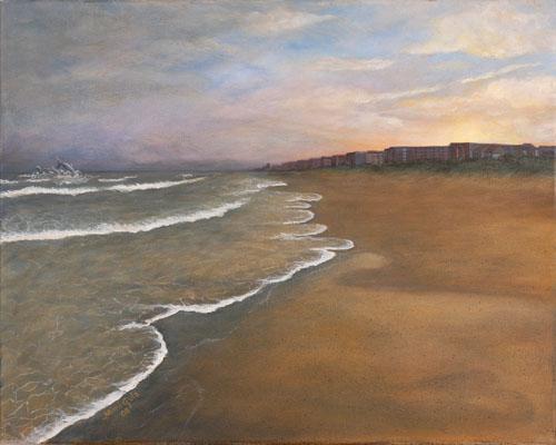 Framed Painting Litchfield Beach