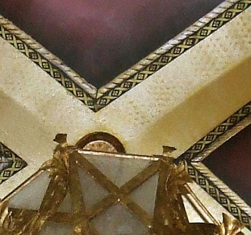 Pittman Groin Vault Ceiling close-up