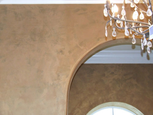 Tri-color Lusterstone Metallic Plaster