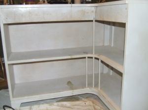 bookshelf before